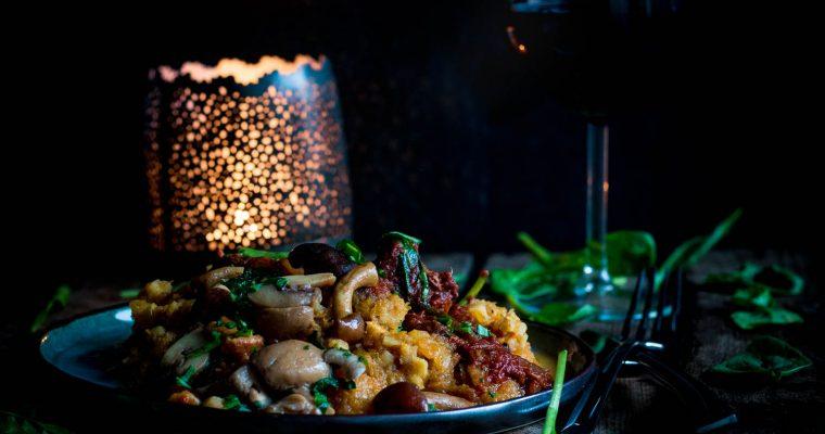 Hartverwarmend Everzwijnstoofpotje met kaneel en spinazie
